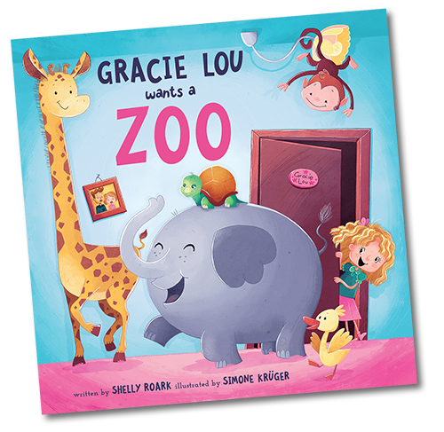 Gracie Lou Wants A Zoo Book